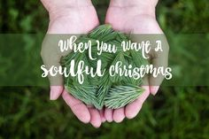 When You Want A Soulful Christmas
