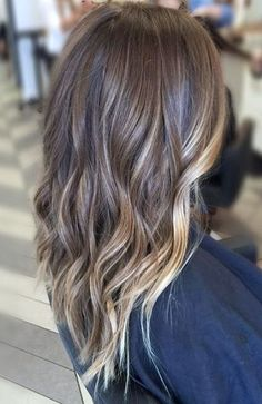 50 Balayage Hair Color Ideas: Perfect Balayage on Dark Hair, Brunette, Brown, Caramel and Red Balayage Variants by rena