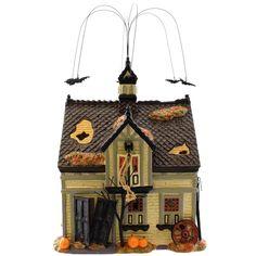Dept 56 Buildings Creepy Creek Carriage House Village Halloween Lighted Building