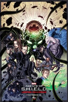 Marvel's Agents of SHIELD Episode 100 TONIGHT! | Serpentor's Lair
