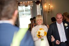 Sunshine and Sunflowers at a Chandos House Wedding