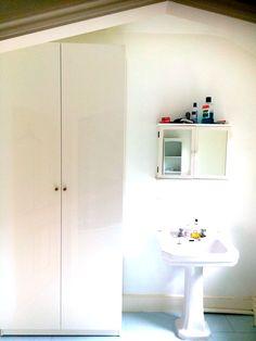 PAX Wardrobe assembled in bathroom bromley