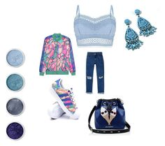 """""""fantasy mood!#outfit#setbyfranerli"""" by fra-nerli on Polyvore featuring adidas Originals, adidas, Monki, Lipsy, Karl Lagerfeld and Terre Mère"""