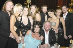 Barry Gibb and His Family