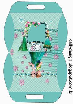 """CALLY'S DESIGN-Kits Personalizados Gratuitos: Kit Aniversário """"Frozen Fever""""…"""