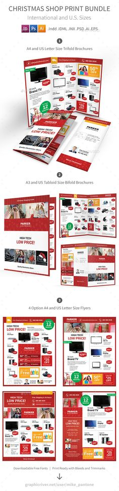 Supermarket Products Catalog Brochure Template Vol3 | Products