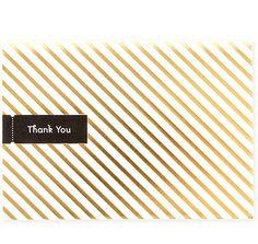 Golden Rule No. 3 thank you card | Pei Design.
