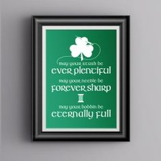Print and frame this fabricated Irish Sewing Blessing for the month of March -- available in multiple sizes and colors. Sewing Art, Sewing Crafts, Sewing Projects, Dyi Crafts, Sewing Ideas, Craft Projects, St Pattys, St Patricks Day, Saint Patricks