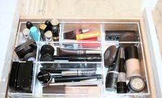 The Best Organizers To Cut Bathroom Clutter // Live Simply by Annie