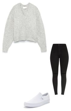 """Untitled #249"" by briskacarbajal01 on Polyvore featuring Vans"