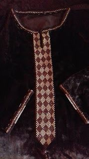 موديلات الراندة بالعقيق أجمل الموديلات والأشكال التي نشرت حاليا Embroidery Dress, Loom, Tie, Beads, Fashion, Kaftan, Embroidery, Outfits, O Beads