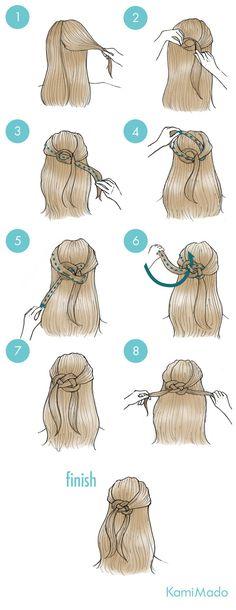 Haarbandknoten