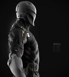 ArtStation - Gray Fox, by YURIY ROMANYKMore robots here.