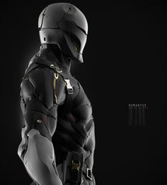 ArtStation - Gray Fox, by YURIY ROMANYKMore robots here.