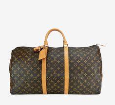 Louis Vuitton Brown Luggage