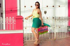 Rose Bertin beach basket/handbag/handmade/colombia