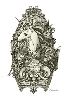 Last unicorn tattoo idea