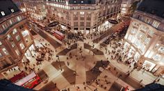 The traffic ban will first be implemented on the eastern section between Tottenham Court Road and Oxford Circus