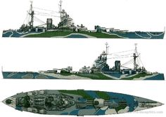 16 in battleship HMS Rodney - she and sister Nelson were cut down from a larger 5 turret design as a result of Washington Treaty tonnage limitations.