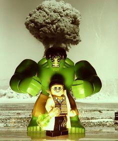 The Incredible Hulk by legoagogo Marvel And Dc Superheroes, Lego Marvel Super Heroes, Hulk Funny, First Hulk, Lego Hulk, Hulk Avengers, Hulk Smash, Lego Figures, Lego Photography