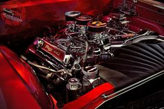 """Muscle Car Garage Mix 24/""""x36/"""" HD Muscle Car Poster Print /""""Cars At The Spa/"""""""