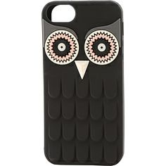 Kate Spade New York Owl Silicone Phone Case For iPhone® 5 and 5s