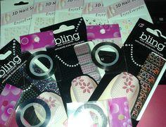 stikers pequeños $800.- stickers uñas completas $800.- cintas $450.-