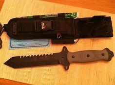 TOPS SURV TAC 7 Survival Combat Knife Joseph Joe Teti Fire Starter TP SURVTAC7