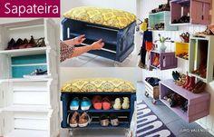 caixotes de feira para decoração