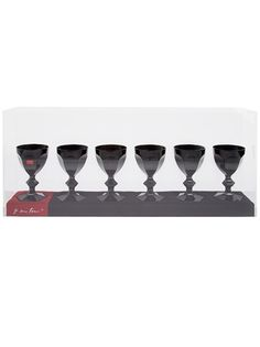 Baccarat Set of Six Baccarat Crystal Glasses From FarFetch.com