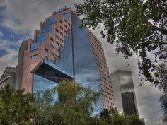 XXI Century Architecture Reforma Avenue Mexico City