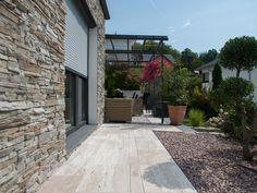 3 Gartentrends auf einen Streich: #Verblender, #Naturstein und #Kiesbett – jonastone.de