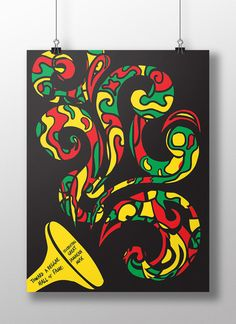 reggae poster style - Google Search