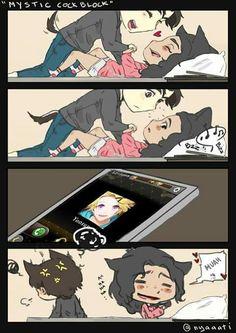 Every otaku girls do this xD