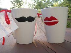 Moustache/Lips Mug Tutorial