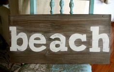 Super woodworking crafts wooden signs how to paint Ideas Love Wooden Sign, Beach Signs Wooden, Wooden Signs With Sayings, Wood Signs, Diy Signs, Easy Woodworking Projects, Woodworking Plans, Wood Projects, Youtube Woodworking