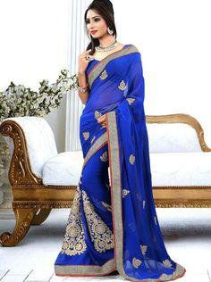 Blue Indian dress #Indian #dress