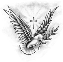 considering this tattoo Dove Tattoos, Arm Tattoos, Sleeve Tattoos, Cross Tattoo Designs, Angel Tattoo Designs, Bullseye Tattoo, Baby Angel Tattoo, Gemini Art, Poster Competition