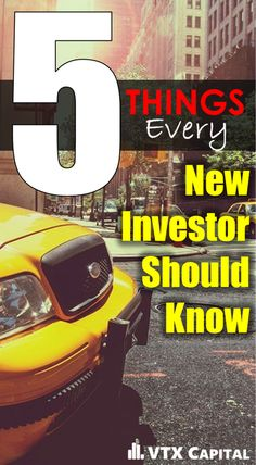 The daunting task of starting your investing career has always been a tough hurdle, mentally, to overcome.  As a new investor, I'd like to share with you 5 tips that I wish I had known when I first started.