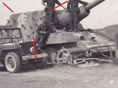 PB348-Us-Truppen-Beute-Jagdpanzer-VI-Jagdtiger-Sd-Kfz-186-mit-Hinterhalt-Tarnung