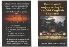 Katie's Elizabethan Theatre fact file (part 2).