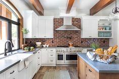 Kitchen Italian Farmhouse, Granite Bay, Boutique Interior, Life Is Beautiful, Interior Decorating, Kitchen Cabinets, Interiors, Table, Furniture