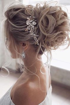 Long Hair Wedding Styles, Wedding Hairstyles For Long Hair, Wedding Hair And Makeup, Bridal Hair, Hair Makeup, Wedding Hair Half, Gown Wedding, Wedding Bride, Wedding Ceremony
