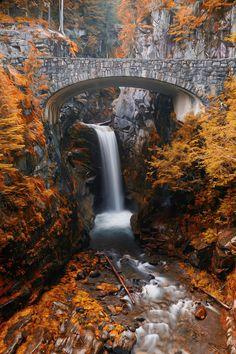 Christine Falls, Adirondacks, New York ♡