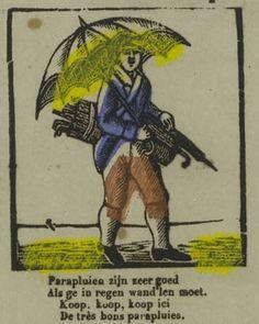 Parapluverkoper. Uit: Borms 0610
