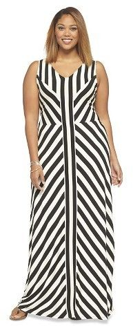 Plus Size Maxi Dress - Ava & Viv for Target #plussizefashion