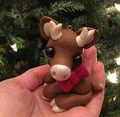 Cerf Noël fimo / noeud