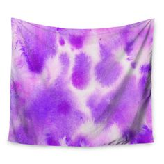 """East Urban Home Watercolor by Iris Lehnhardt Wall Tapestry Size: 50"""" H x 60"""" W"""