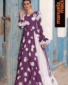 Colección 2020 Manuela Macías Moda Flamenca Special Dresses, Formal Dresses, Hijab Fashion, Fashion Dresses, Kurti With Jacket, Shirt Dress, Kurtis, Regional, Casual
