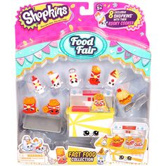 Shopkins Series 3 Food Deluxe Pack - Assorted | Toys R Us Australia